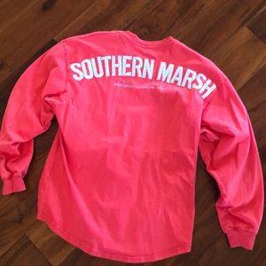 Preppy Southern Marsh Long Sleeve T-shirt